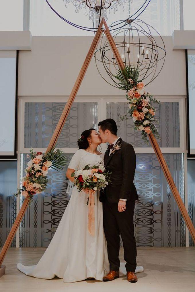 Tian Cheng & Sihui - Marble Metallic Wedding by Bloc Memoire Photography - 002