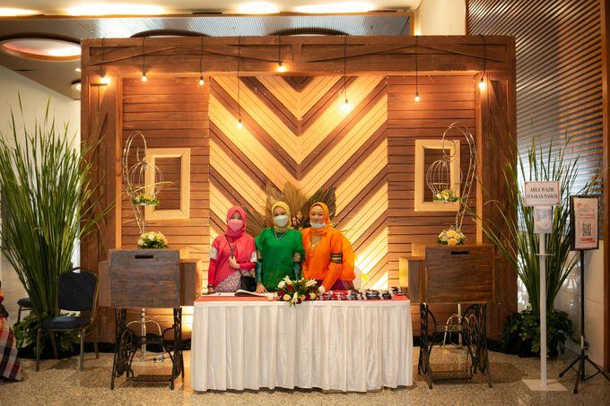 Foyer Decoration Inspiration for New Normal Wedding by Skenoo Hall Emporium Pluit by IKK Wedding - 008