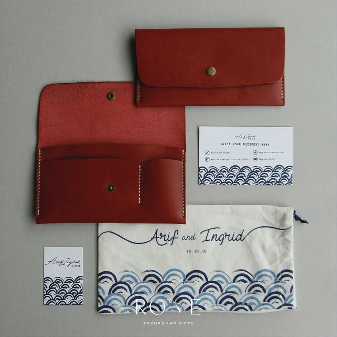 Arif & Inggrid - Custom Travel Wallet by Rove Gift - 001