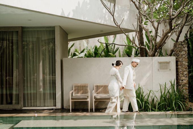 Ario & Abel Wedding at Azila Villa by AKSA Creative - 015