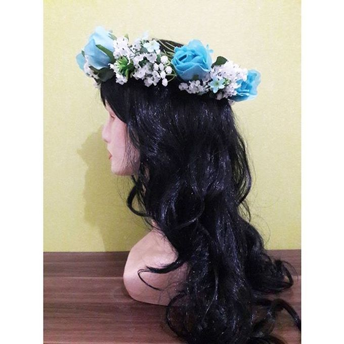 Flower Crown / Bando Bunga / Mahkota Bunga by Estrella Flower Crown - 021