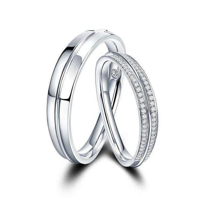 Tiaria Arlene de Grace Diamond Ring Perhiasan Cincin Pernikahan Emas dan Berlian by TIARIA - 004