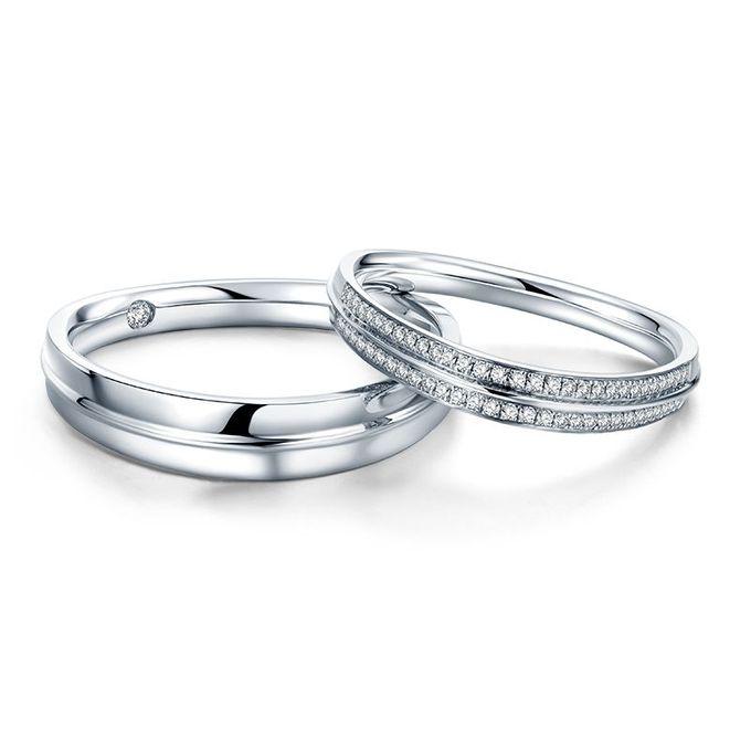 Tiaria Arlene de Grace Diamond Ring Perhiasan Cincin Pernikahan Emas dan Berlian by TIARIA - 002