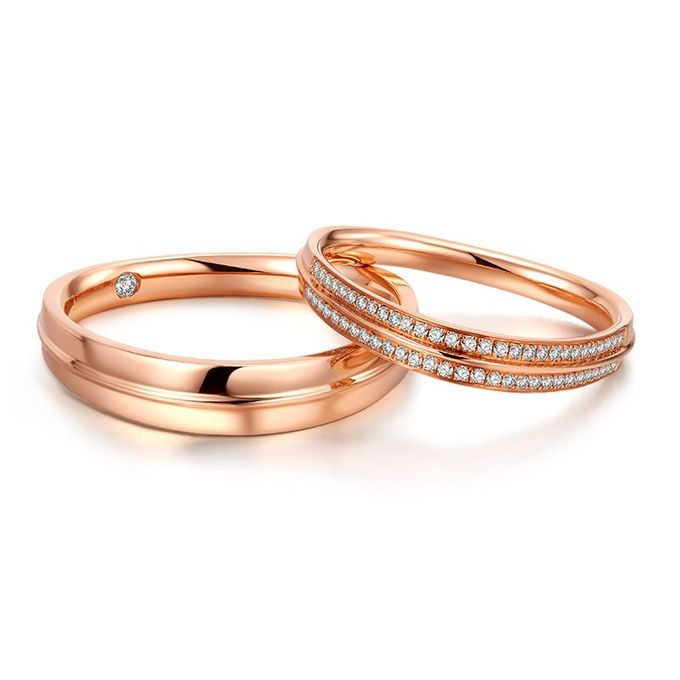 Tiaria Arlene de Grace Diamond Ring Perhiasan Cincin Pernikahan Emas dan Berlian by TIARIA - 001