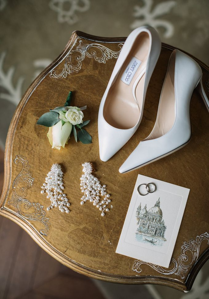 Romantic Wedding in Venice by Bridal Luxury Beauty Service - 004