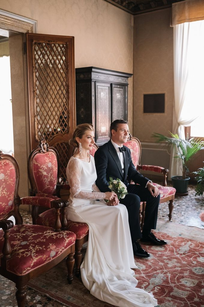 Romantic Wedding in Venice by Bridal Luxury Beauty Service - 013