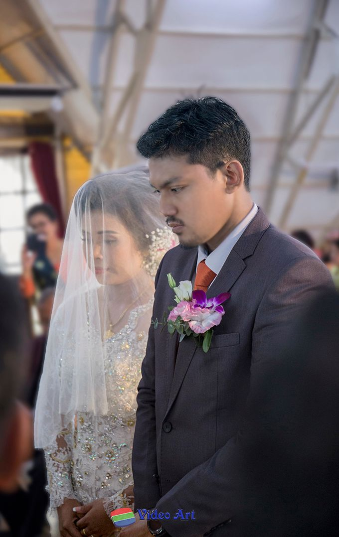 Wedding story of Ade & Martin by Video Art - 026