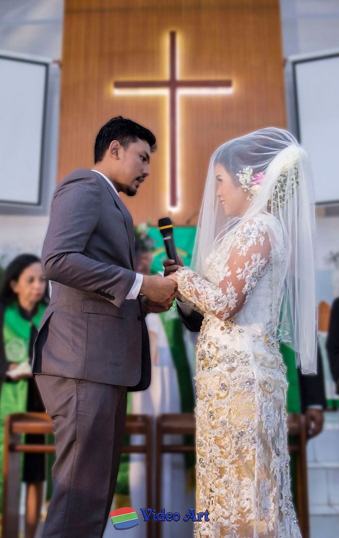 Wedding story of Ade & Martin by Video Art - 027