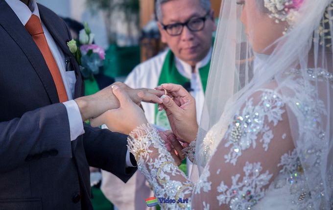 Wedding story of Ade & Martin by Video Art - 029