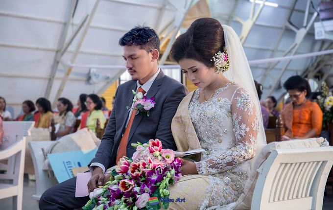 Wedding story of Ade & Martin by Video Art - 031