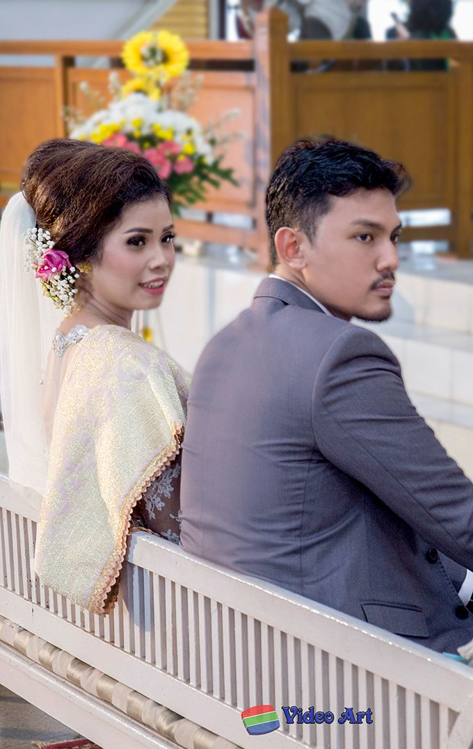 Wedding story of Ade & Martin by Video Art - 033