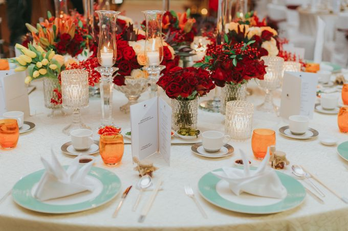 Luxury Wedding Dinner by ARTURE PHOTOGRAPHY - 016