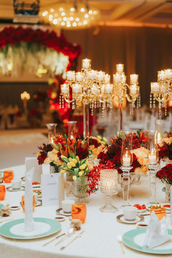 Luxury Wedding Dinner by ARTURE PHOTOGRAPHY - 015