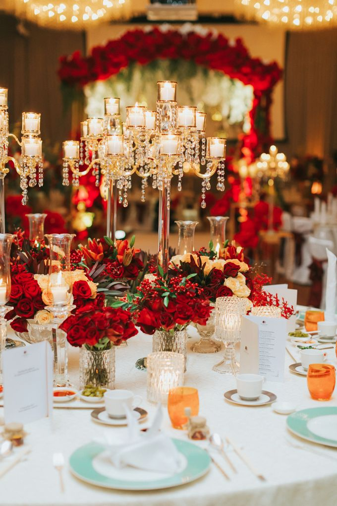 Luxury Wedding Dinner by ARTURE PHOTOGRAPHY - 013