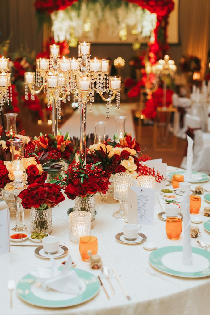 Luxury Wedding Dinner by ARTURE PHOTOGRAPHY - 014
