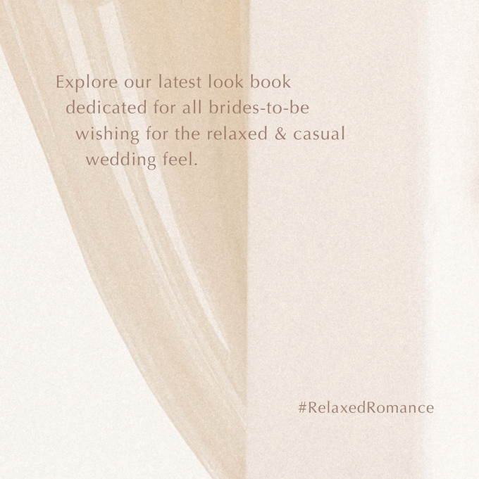 Relaxed Romance - An effortless approach for casual brides by Dandelion ID - 004