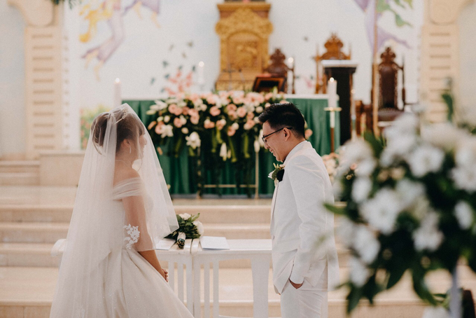 Michael & Kezia Wedding by W Bali - Seminyak - 020
