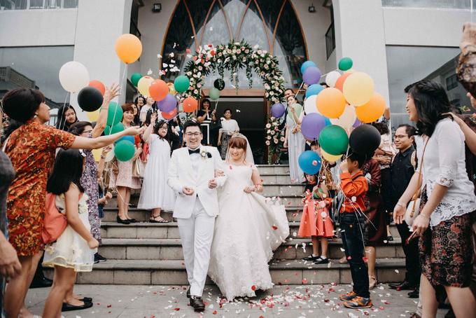Michael & Kezia Wedding by ARTGLORY BALI - 023