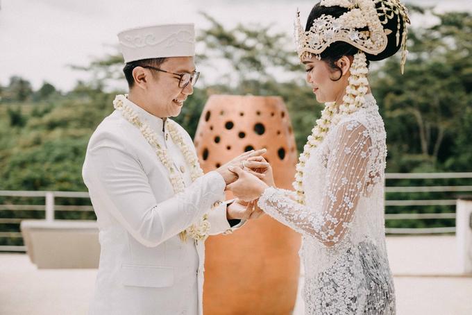 Ayip & Dara Wedding by ARTGLORY BALI - 014