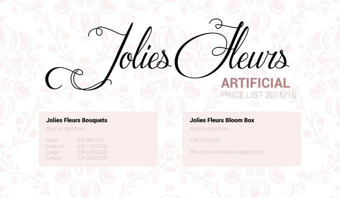PRICELIST 2015-16 by Jolie Flowers - 002
