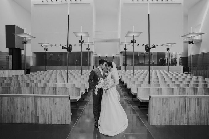 Church Wedding- Celebrating Lawlie & Vera by ARTURE PHOTOGRAPHY - 040