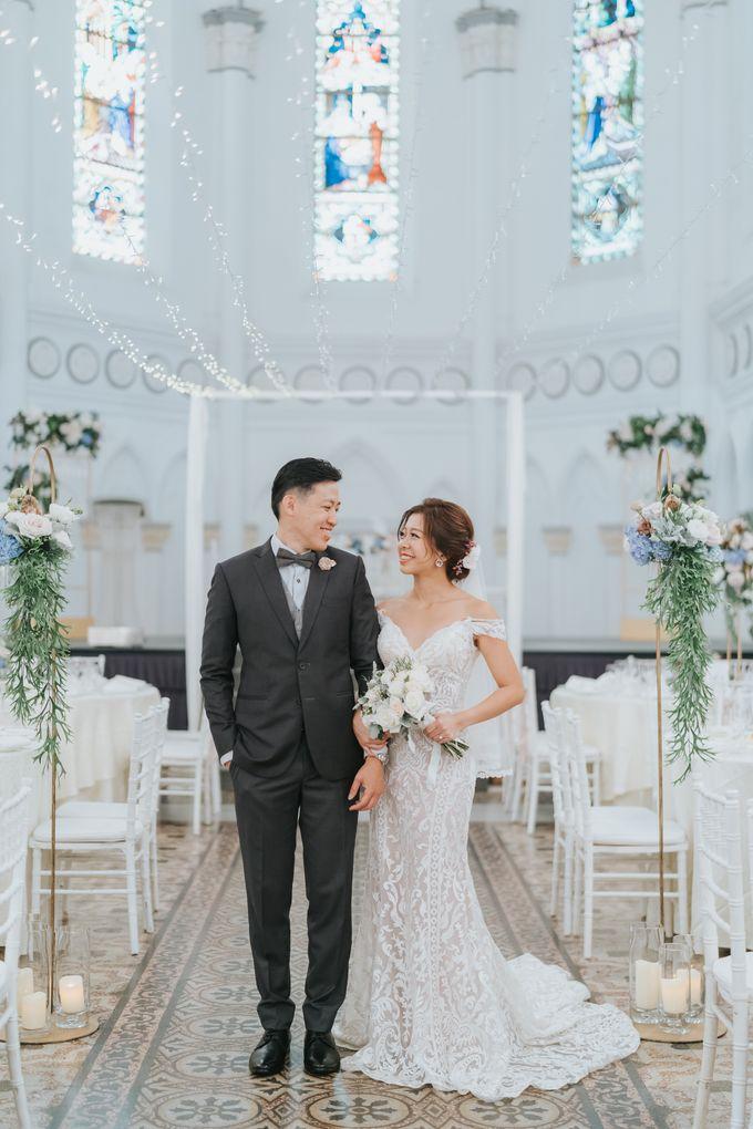 Chijmes Wedding- Celebrating Rui Hui & Eileen by ARTURE PHOTOGRAPHY - 003