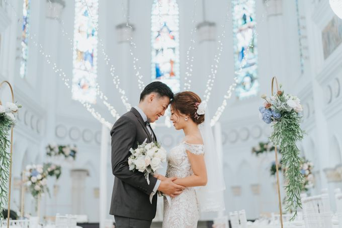Chijmes Wedding- Celebrating Rui Hui & Eileen by ARTURE PHOTOGRAPHY - 004