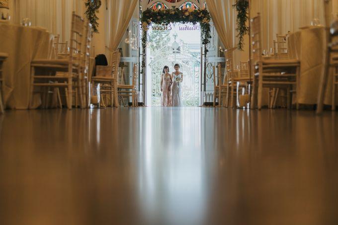 Chijmes Wedding- Celebrating Rui Hui & Eileen by ARTURE PHOTOGRAPHY - 009