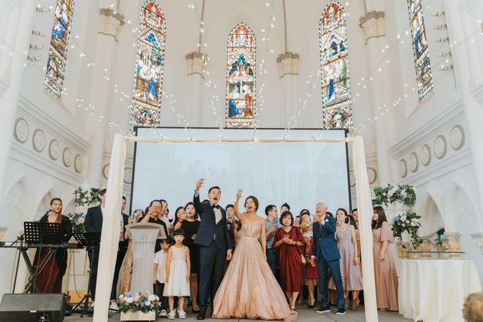 Chijmes Wedding- Celebrating Rui Hui & Eileen by ARTURE PHOTOGRAPHY - 043