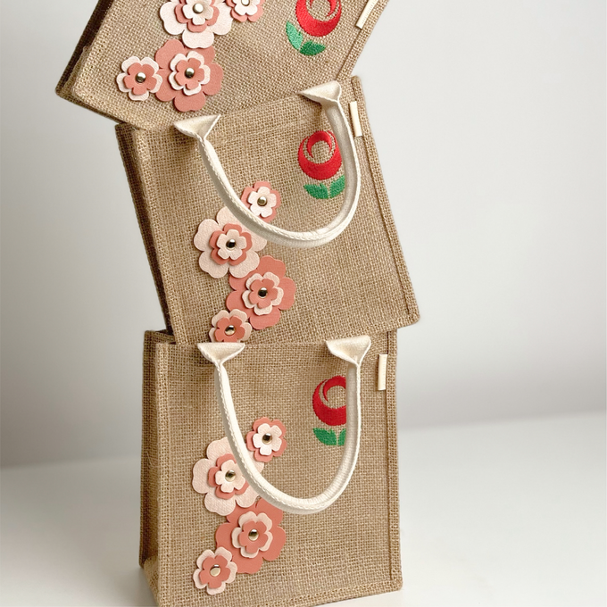 Les Blossom Jute Collections by Arumanis Gift - 001