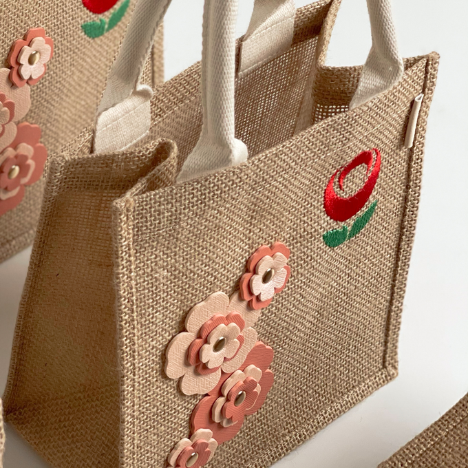 Les Blossom Jute Collections by Arumanis Gift - 003