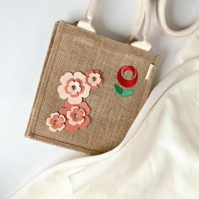 Les Blossom Jute Collections by Arumanis Gift - 004