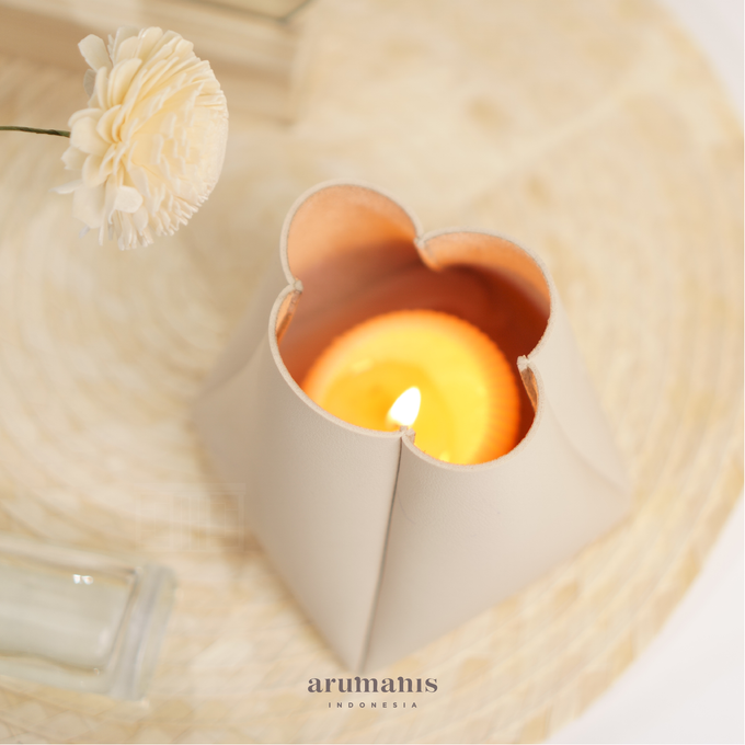 Joy Mini Bucket as candle holder by Arumanis Gift - 001