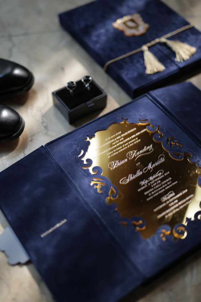 Royal Wedding Invitation by Pensée invitation & stationery - 005