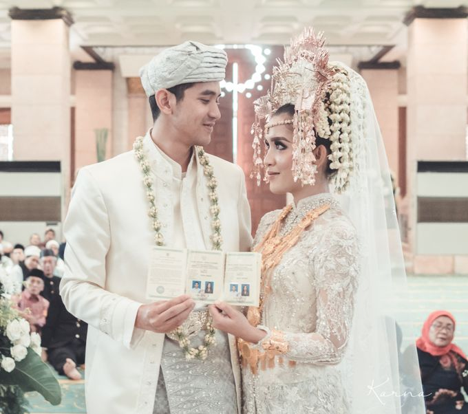 Sacred Wedding in Kubah Emas Grand Mosque by DES ISKANDAR - 013