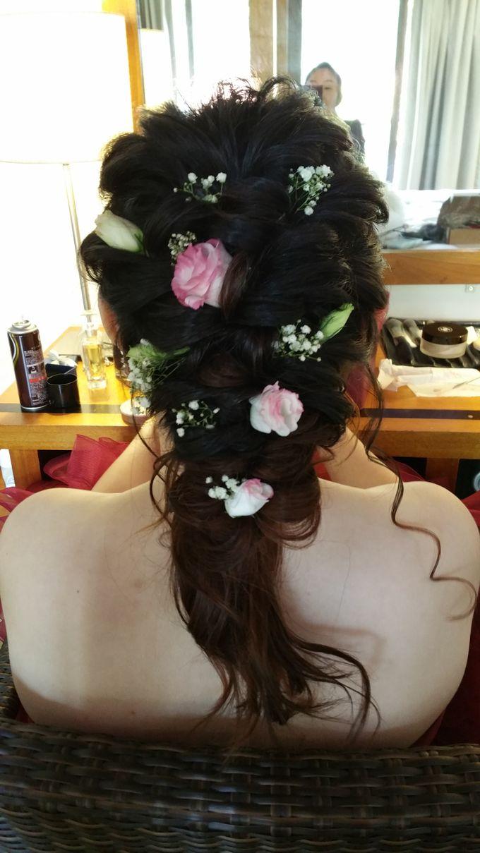 Actual Wedding Makeup & Hairstyling  by Weiyee-makeup - 004