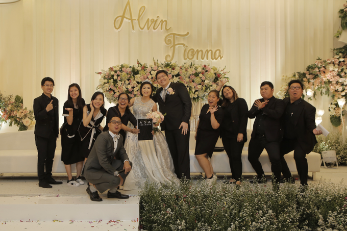 Fashion Show at the Wedding of ALVIN ❤️ FIONNA by Pullman Jakarta Indonesia - 003