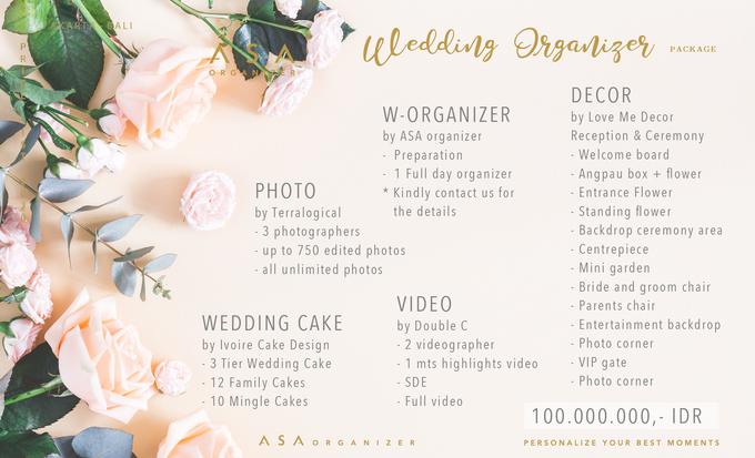 Wedding Organizer Package by Ivoire Cake Design - 001