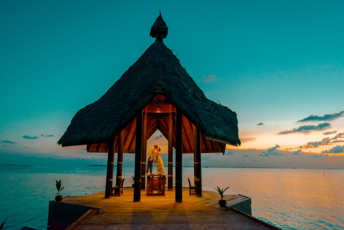 Heike and Michael Destination Wedding In Maldives  by Asad's Photography - 001