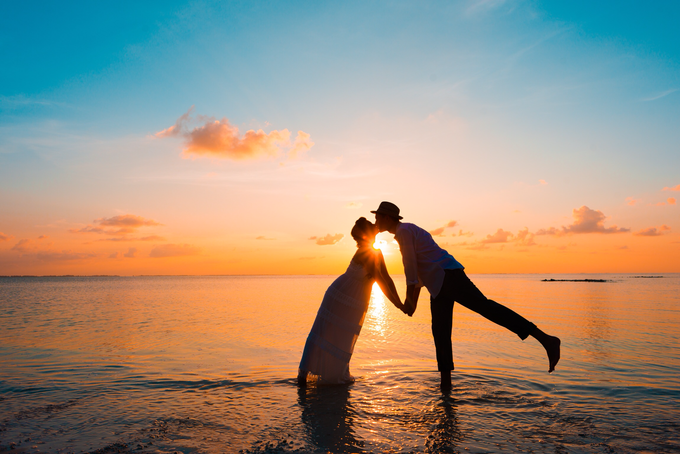 Heike and Michael Destination Wedding In Maldives  by Asad's Photography - 002