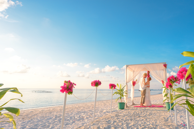 Heike and Michael Destination Wedding In Maldives  by Asad's Photography - 006