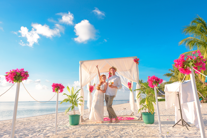 Heike and Michael Destination Wedding In Maldives  by Asad's Photography - 007
