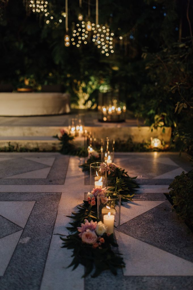Glasshouse Tirtha Bali Wedding of Ashley & Yoke Song by fire, wood & earth - 028