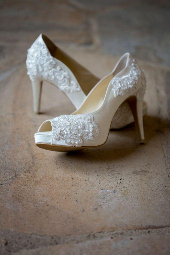 Bridal Shoe Close Ups by Christy Ng Shoes - 042