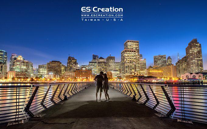 Pre wedding in San francisco by ES Creation Photography - 002