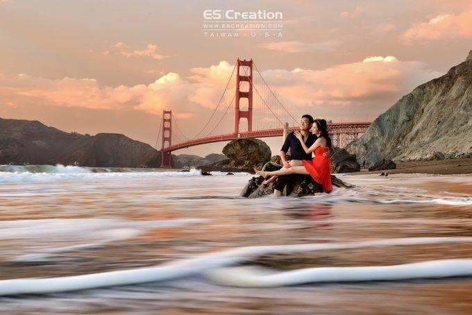 Pre wedding in San francisco by ES Creation Photography - 003