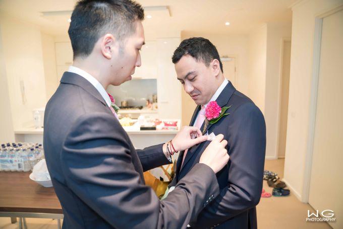 Wedding of Christine & Reza by WG Photography - 005