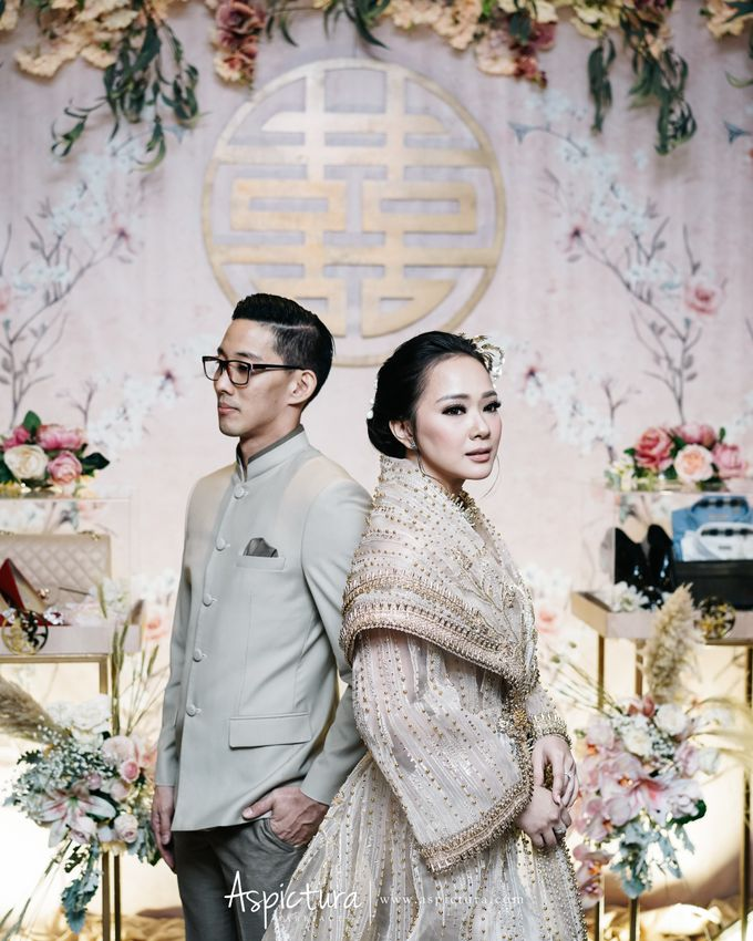 Indra and Yuanita Sangjit by Levine Decoration - 021