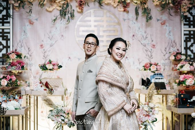 Indra and Yuanita Sangjit by Levine Decoration - 022
