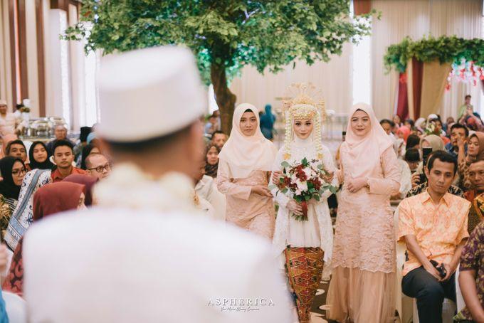 Betawinese Wedding of Sabil & Farach by Khayim Beshafa One Stop Wedding - 014